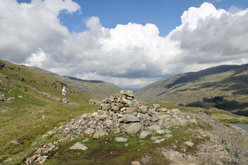 Feel on top of the world in the Hardknott Pass