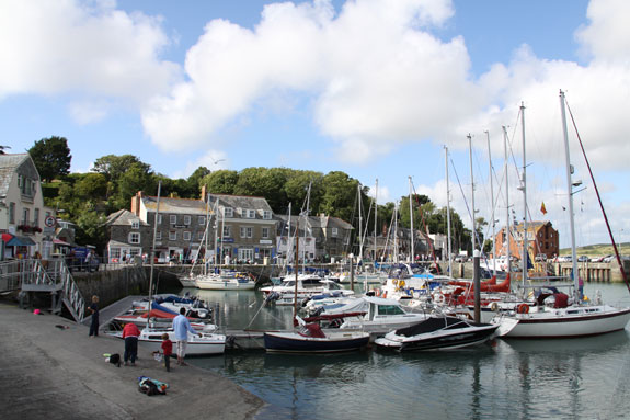 Padstow in Cornwall, Rick Stein helps promote holidays here